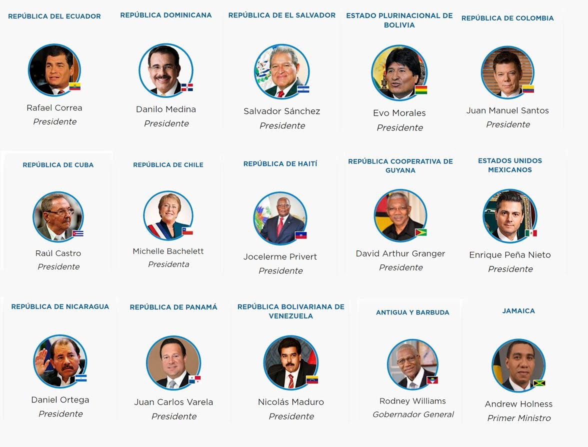 Trece presidentes y otros dignatarios vendrán en las próximas horas a la RD