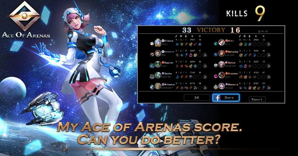 chơi game ace of arena online lol