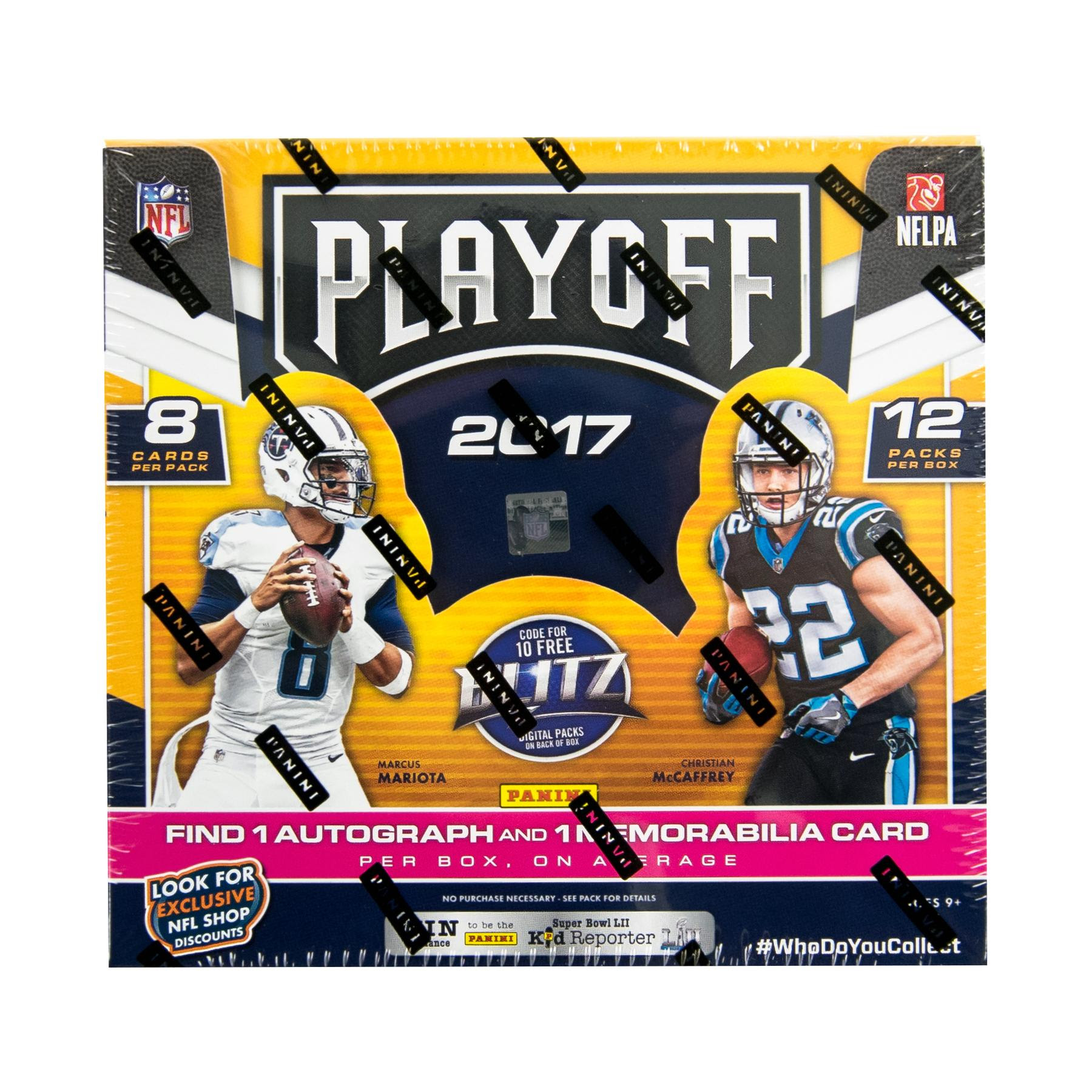 2017 Panini Playoff Football Hobby Box  DA Card World