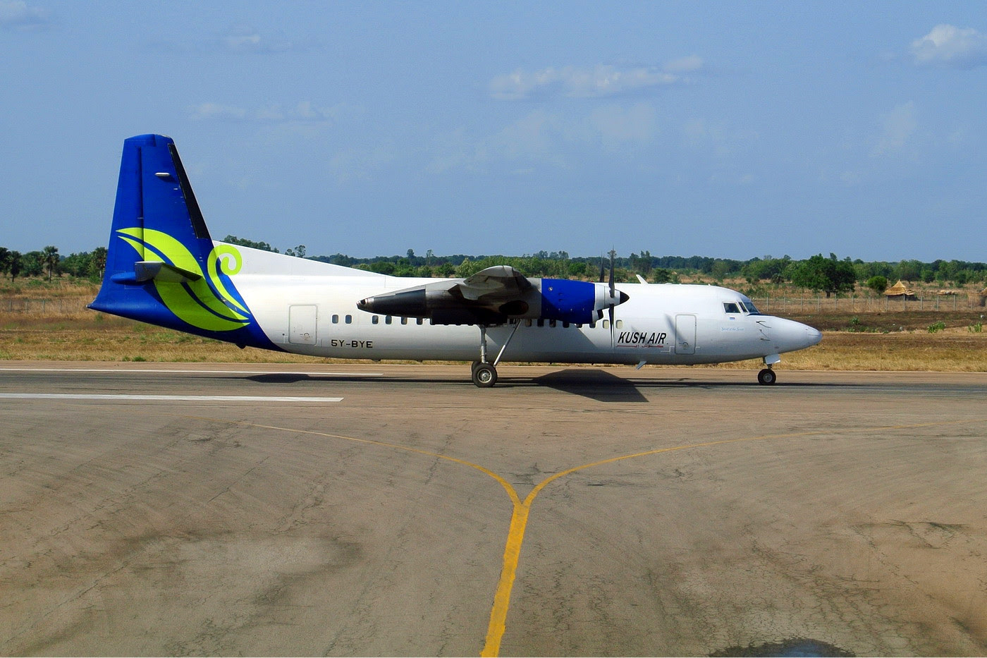 South Sudan's Kush Air in Juba, Sudan