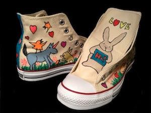 Sneakerdoodles Doodleslice artist David S Cohen