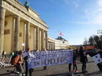 protesta contra joh alemania