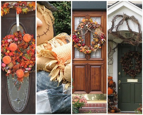 Mosaic Autumn Doors
