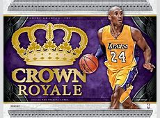 2017/18 Panini Crown Royale Basketball Hobby Box   DA Card
