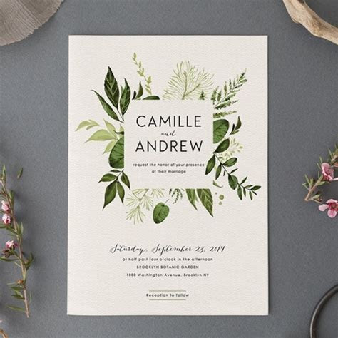 Our Top 20 Swoon Worthy Wedding Invitations From Etsy!
