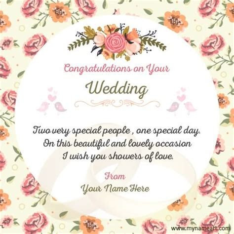 Wedding Card Messages and Wishes   Card Making World