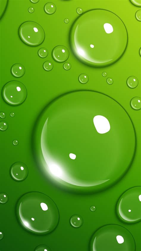 wallpaper drops   wallpaper  green water os