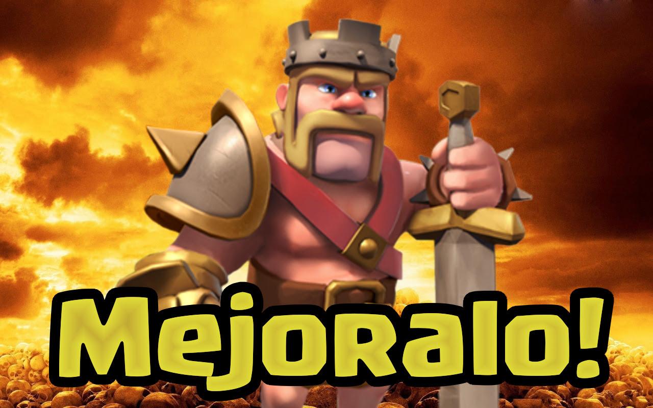 Como Actualizar El Rey Barbaro Clash Con Miguel