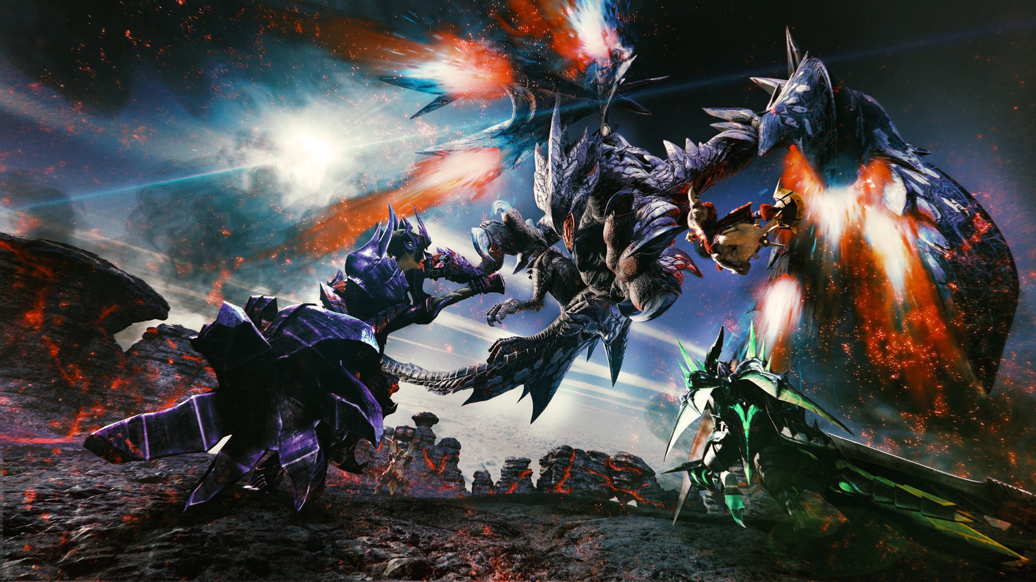 Capcom is bringing Monster Hunter XX to Nintendo Switch screenshot