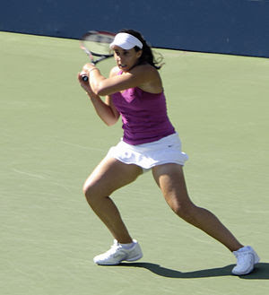Marion Bartoli at the 2009 US Open