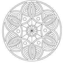 Dibujos Para Colorear Mandala Lazos Y Círculos Eshellokidscom