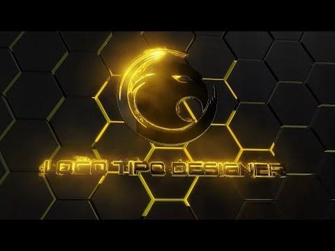 Intro #48 Editavel Logo Tipo Designer Tutorial no Final do vídeo