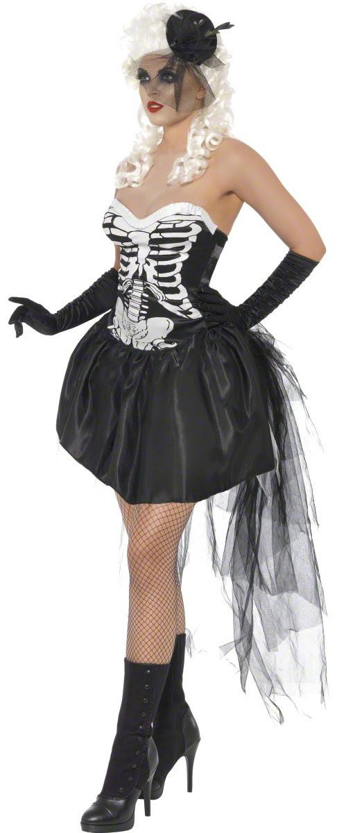 skeleton costume for women n5450