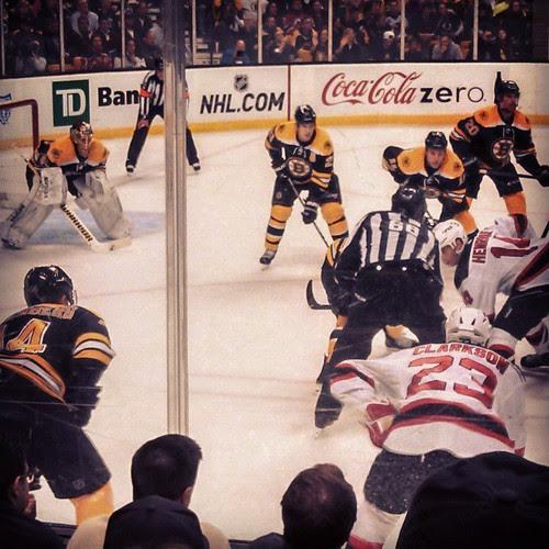 Bruins vs Devils #letsgobs #DontPokeTheBear #bruins #hockey