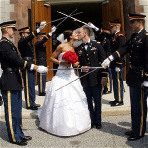 A Few Facts about Military Weddings   Bride St. Louis