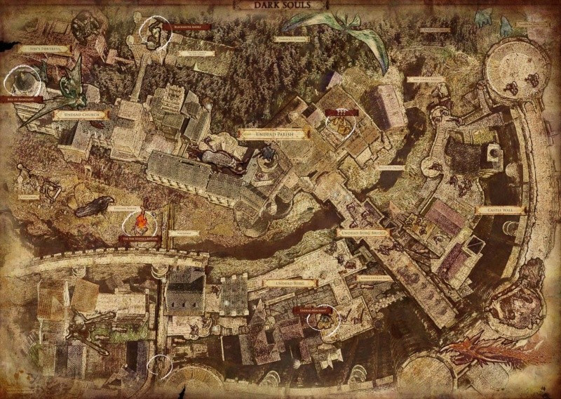 Carte de Lordran