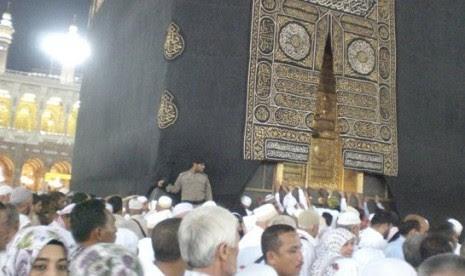 Albarqaf, Kiswah Penutup Pintu Kabah yang Agung