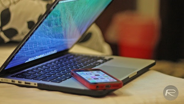 MacBook Pro iPhone 5s