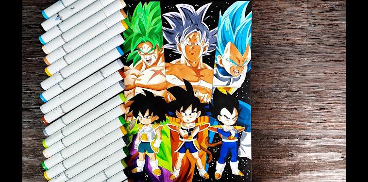 Dragon Ball Super Broly Goku Vegeta Vs Broly