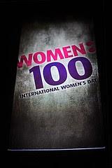 women 100: milestone