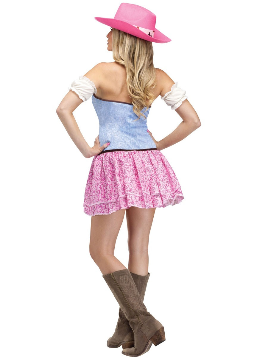 adult rodeo cowgirl sweetie costume  122614  fancy dress
