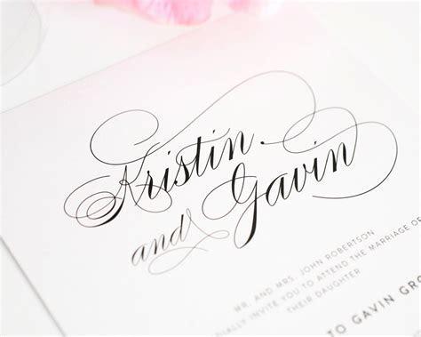 Top 10 Wedding Invitations with Script ? Wedding Invitations