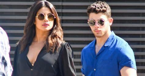 Priyanka Chopra and Nick Jonas on a Date in Sunglasses