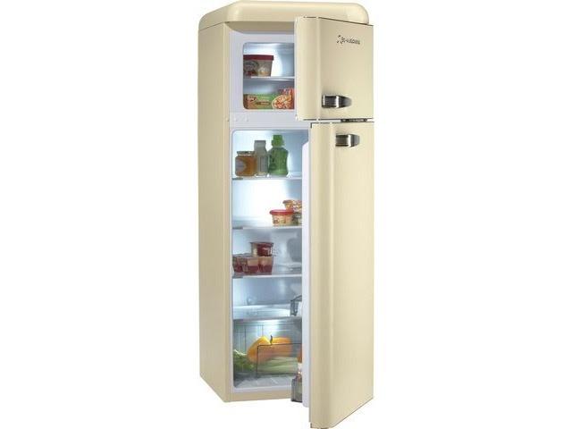 Retro Kühlschrank Foron : Creme kühlschrank schaub lorenz tracie a weeks