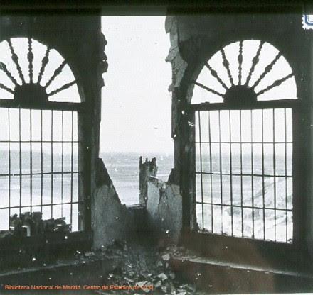 Destrozos en el Convento de la Concepción, Toledo, en la Guerra Civil