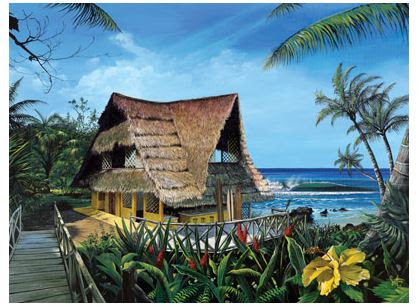 Hawaii Wall Murals The Hawaiian Home