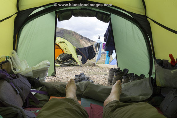 01M-0611 temp Camping at Landmannalaugar Iceland.j