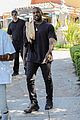 kanye west all smiles while out to lunch 02