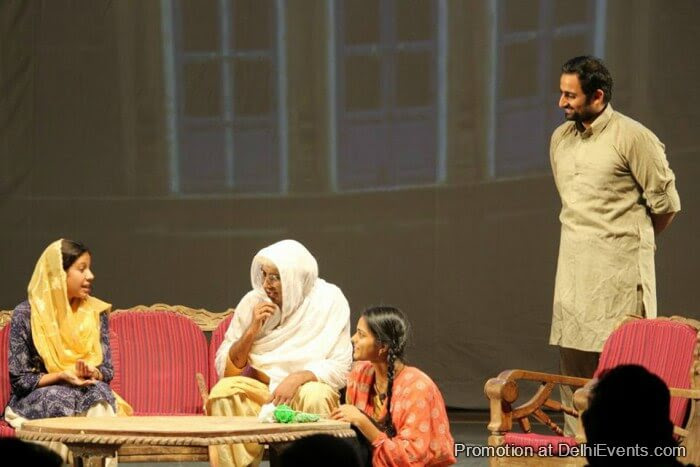 Asmita Theatre Group Jis Lahore Nai Dekhya Who Jamyai Nai Hindi Play Still