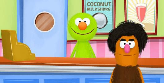 Check out this #SesameStreet flash game Quest For Milkshake! #Snuckers #OnlineGames #SesemeStreet