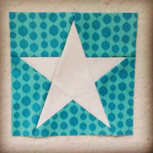 Simple star! :) this was fun. #fromblankpagespatterns #simplestar