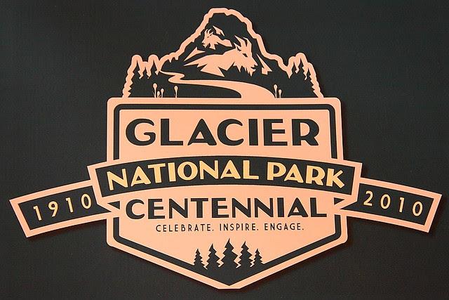 IMG_0937 Centennial Logo, Glacier National Park