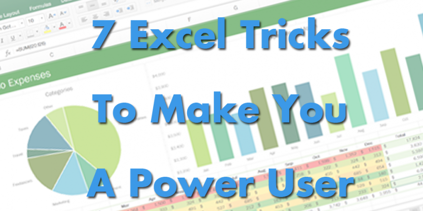 7 Ways to Use Excel Like a Boss (INFOGRAPHIC)
