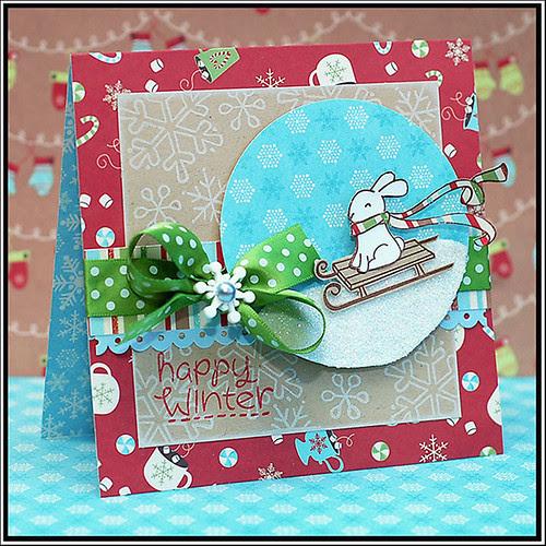 Winter Bunny-Lea Lawson