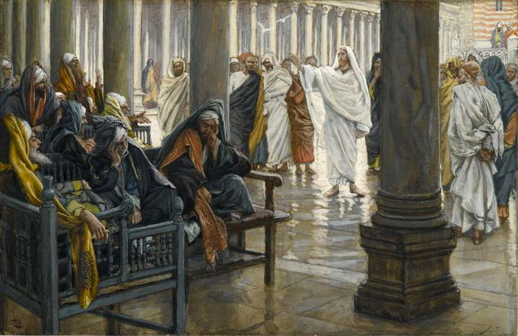 File:Brooklyn Museum - Woe unto You, Scribes and Pharisees (Malheur à vous, scribes et pharisiens) - James Tissot.jpg