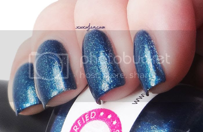 xoxoJen's swatch of Tempest from Glitterfied Nails