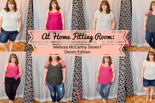 At Home Fitting Room: Melissa McCarthy Seven7 Denim Edition