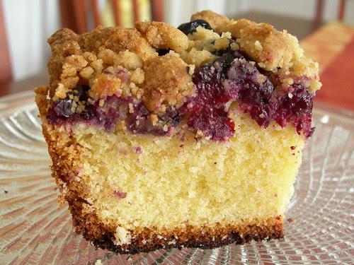 Nick Malgieri's Blueberry Crumb Cake