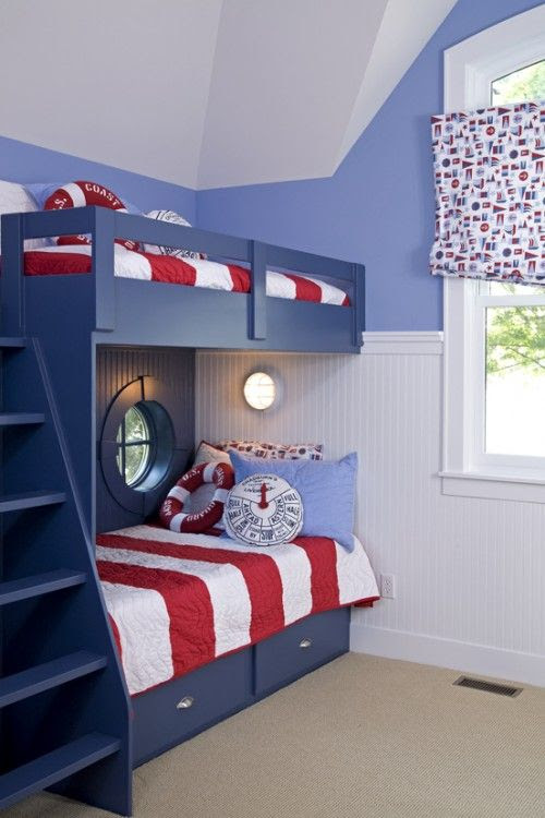 Nautical Theme Boys Bedroom