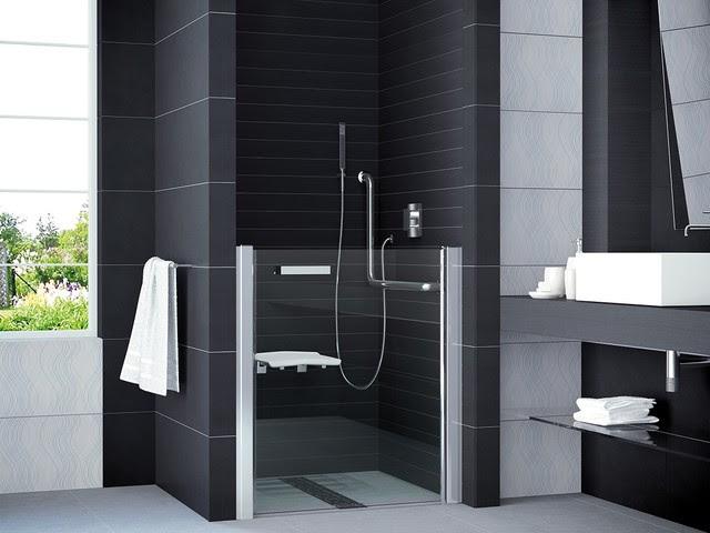 Duscht\u00fcr behindertengerecht  Modern  Badezimmer  K\u00f6ln
