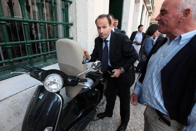 Pedro Mota Soares, em julho, à chegada ao Conselho Nacional do CDS-PP
