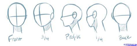 draw manga heads step  step drawing sheets added