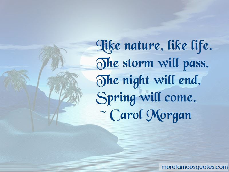 Quotes About The Storm Will Pass Top 9 The Storm Will Pass Quotes
