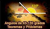 Ángulos de 45 y 135 Grados, Teoremas y Problemas, ESL - Índice Problemas.