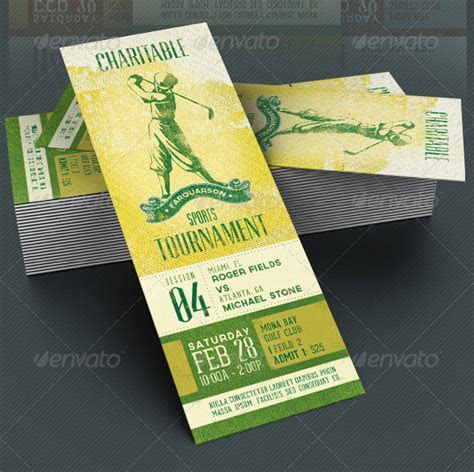 25 Awesome PSD Ticket Invitation Design Templates ? Bashooka