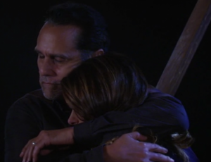 Image result for sonny and robin on the bridge on gh